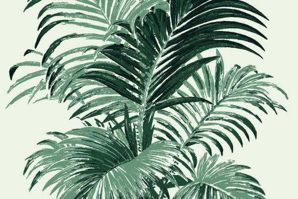 Palm, Greenery, Florence Broadhurst fabric
