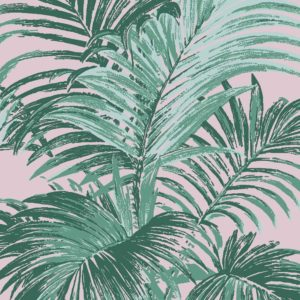 Palm, Pink Safari, Florence Broadhurst fabric