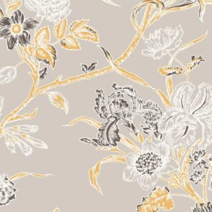 Carnation, cloud dust, Florence Broadhurst fabric