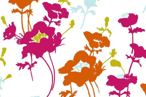 Floral 300, summer, Florence Broadhurst fabrics