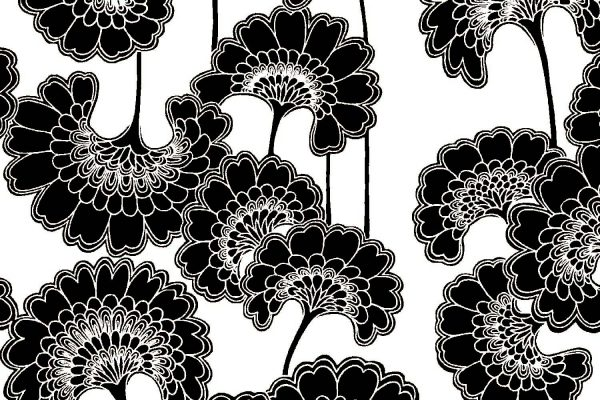 Japanese Floral, Magpie