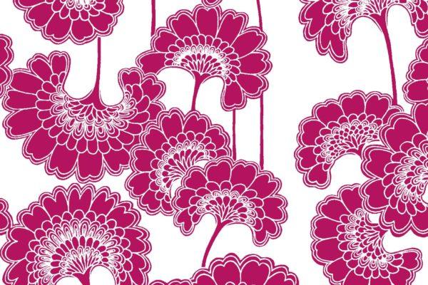 Japanese Floral, waratah, Florence Broadhurst fabric