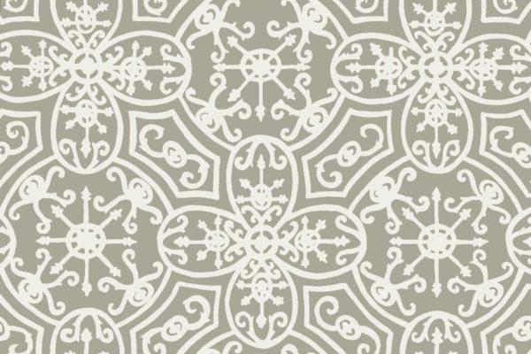 Spanish Plate, quarry, Florence Broadhurst fabric
