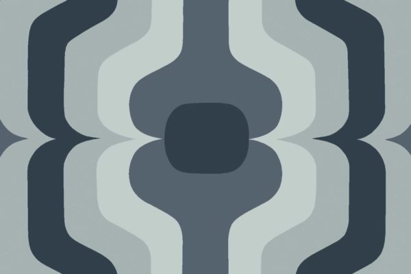 Swedish Stripe, magnet, Florence Broadhurst fabric