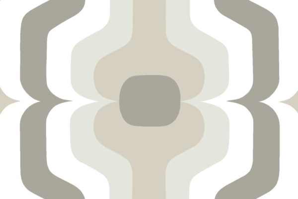 Swedish Stripe, twine, Florence Broadhurst fabric