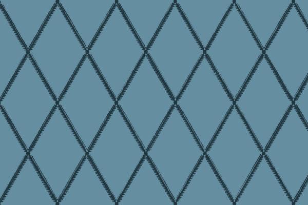 Lattice Leaf, Ink, Florence Broadhurst Fabrics