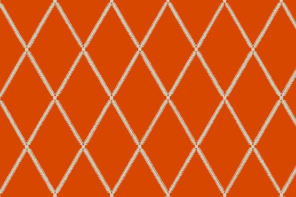 Lattice Leaf, Lava, Florence Broadhurst Fabrics