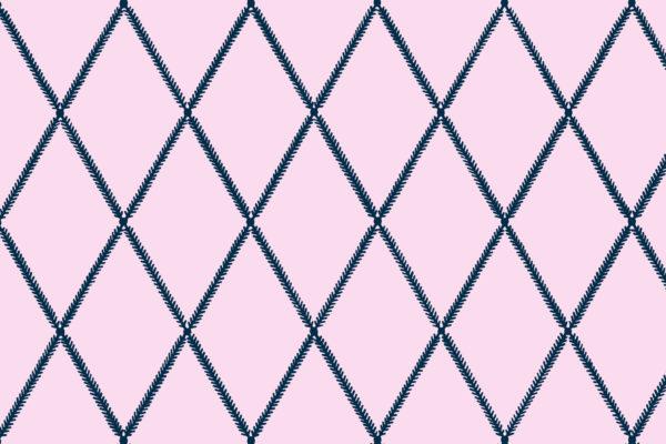 Lattice Leaf, Nightglow, Florence Broadhurst Fabrics
