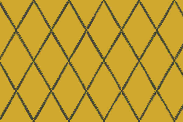 Lattice Leaf, Pollen, Florence Broadhurst Fabrics