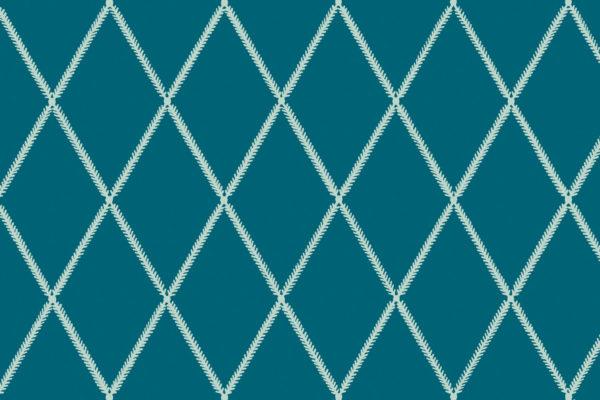 Lattice Leaf, Sea, Florence Broadhurst Fabrics