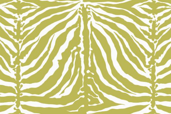 Tiger Stripe fabric, Alpine, Florence Broadhurst Fabrics