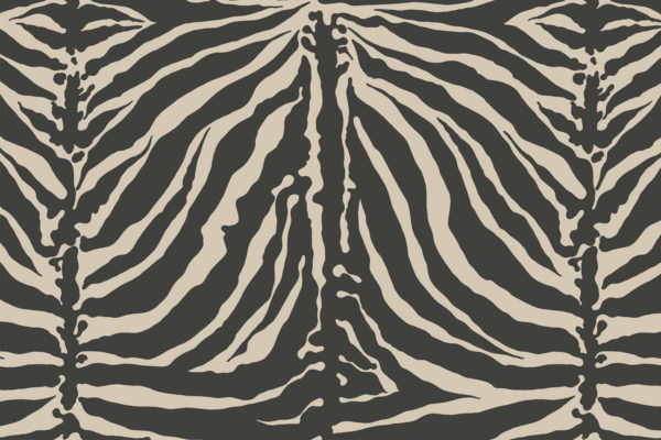 Tiger Stripe fabric, Eclipse, Florence Broadhurst Fabrics