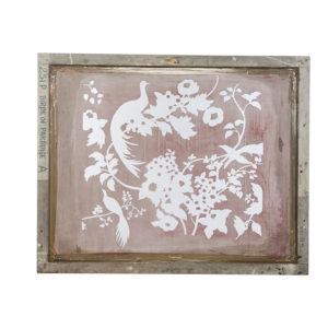 Bird Silkscreen Art