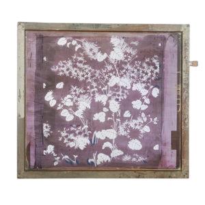 Floral Silkscreen Art