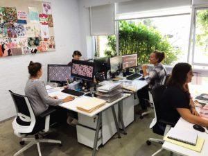 Florence Broadhurst Fabrics Design Team