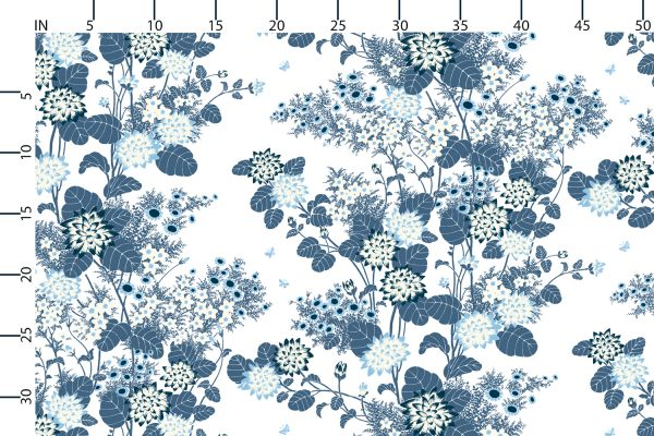 Chinese Floral Coast, Textiles