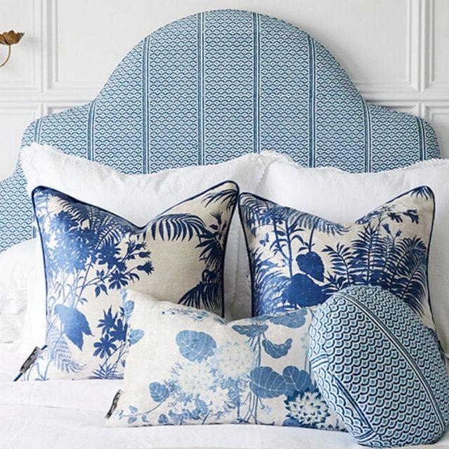 cushion covers, master bedroom, Three Birds Renovations